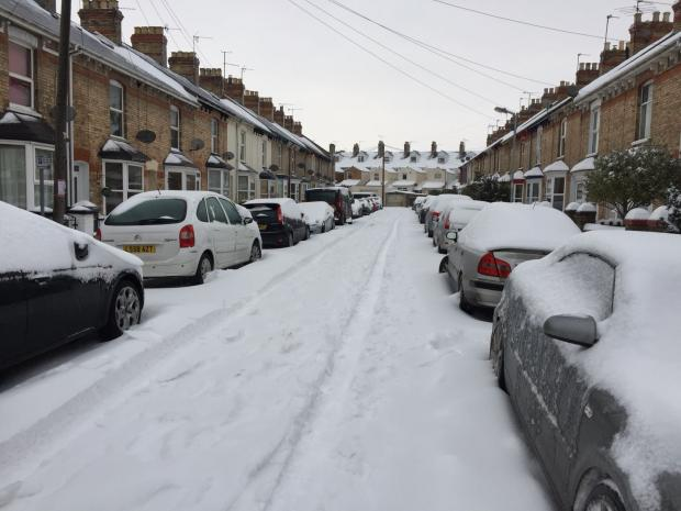 MORE SNOW: Somerset is set to see more snow today (March 2)