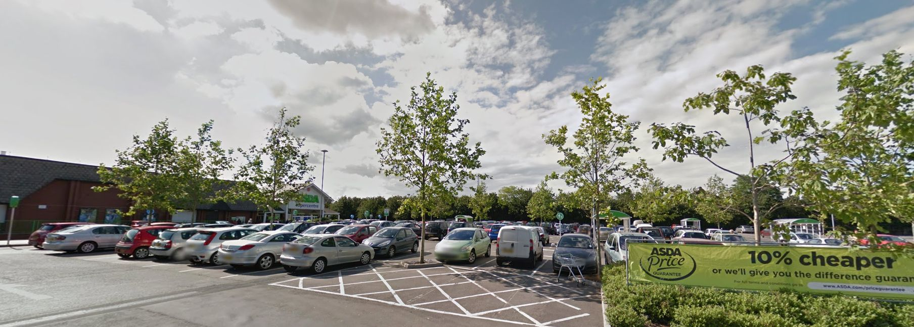 Firefighters free toddler who locked itself in car in Asda car park