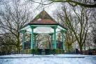 SNOW: Somerset Camera Club member, Leanne Zoe got a great picture of the snow in Vivary Park in Taunton
