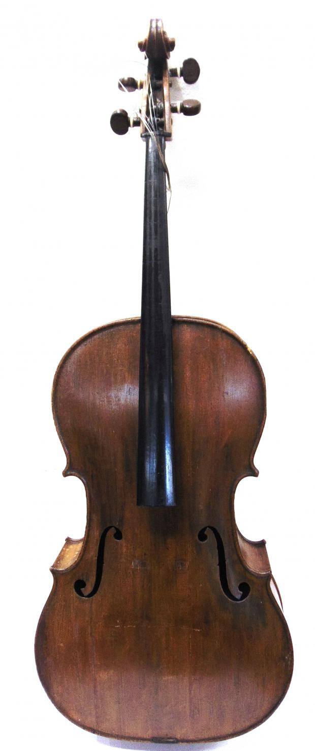 Somerset County Gazette: NOTABLE CELLO: This cello fetched £5,000.