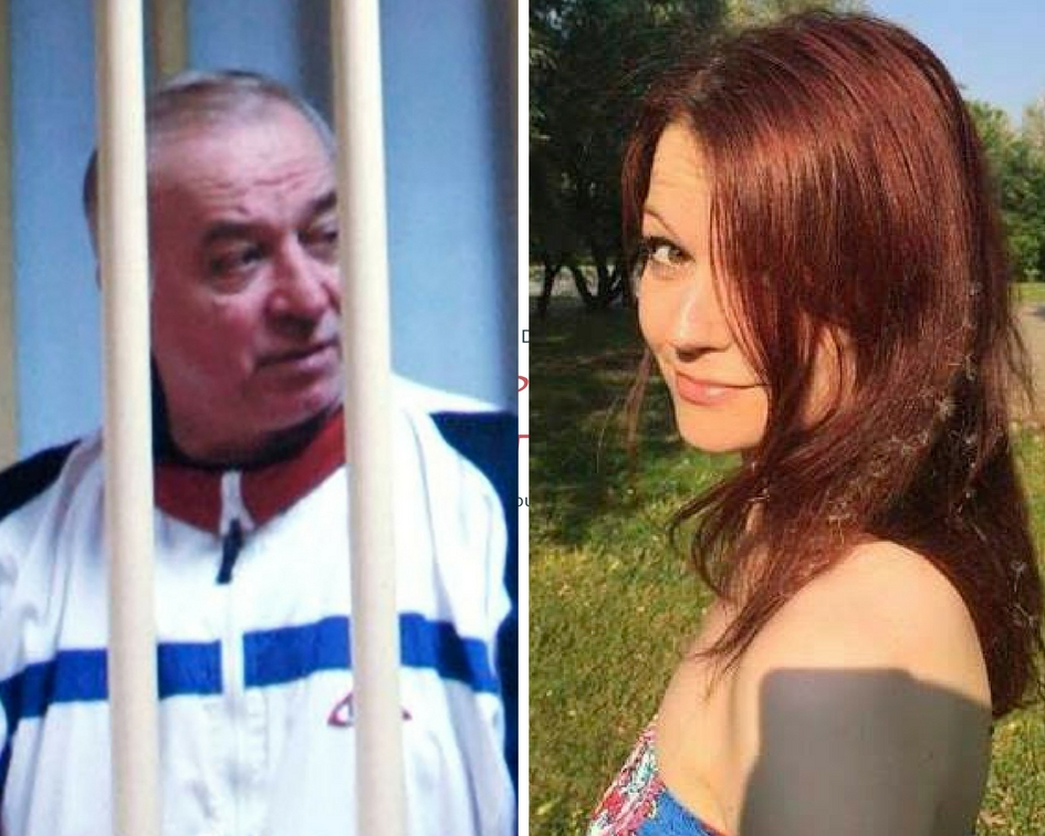 POISONED: Sergei Skripal and his daughter Yulia