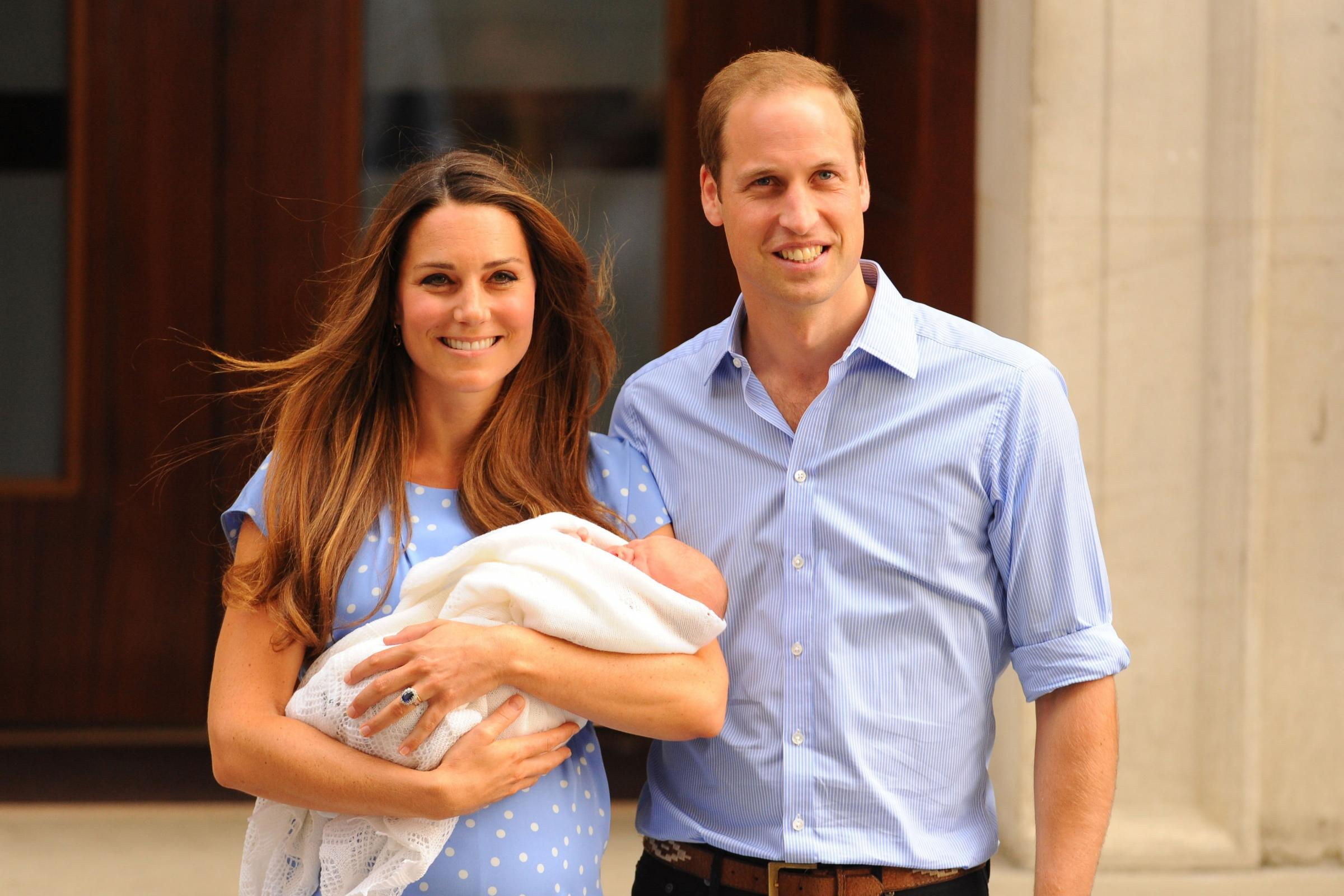 ROYAL BABY: Her Royal Highness The Duchess of Cambridge has had a baby boy