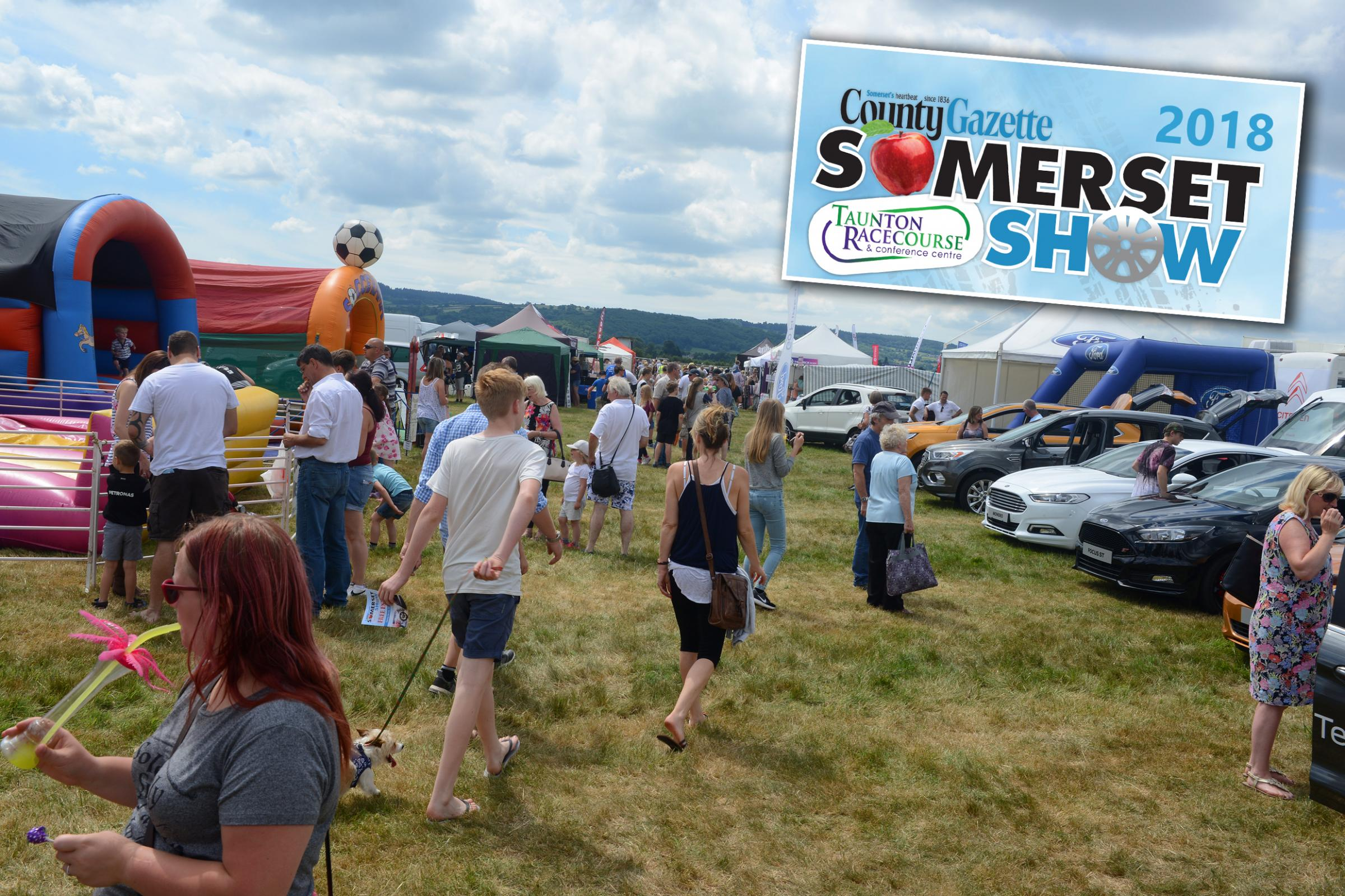 SOMERSET SHOW County Gazette launches 2018 event at Taunton