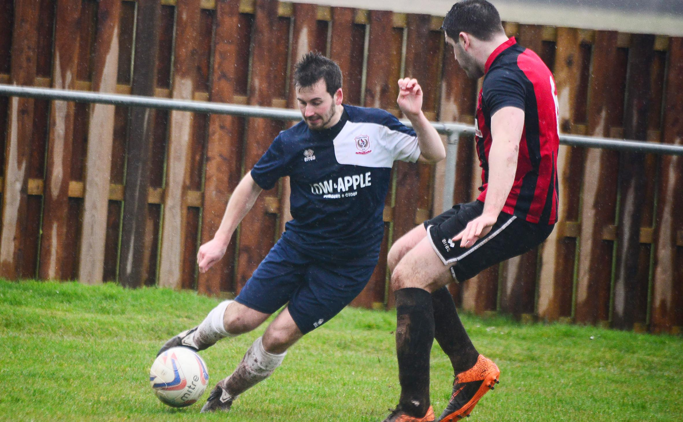 SCORESHEET: James Boyland netted for Chard against Bishops Lydeard on Boxing Day