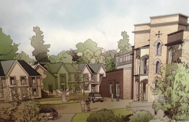 CARE HOME COMPLEX: Image of how the Lyngford House development could look