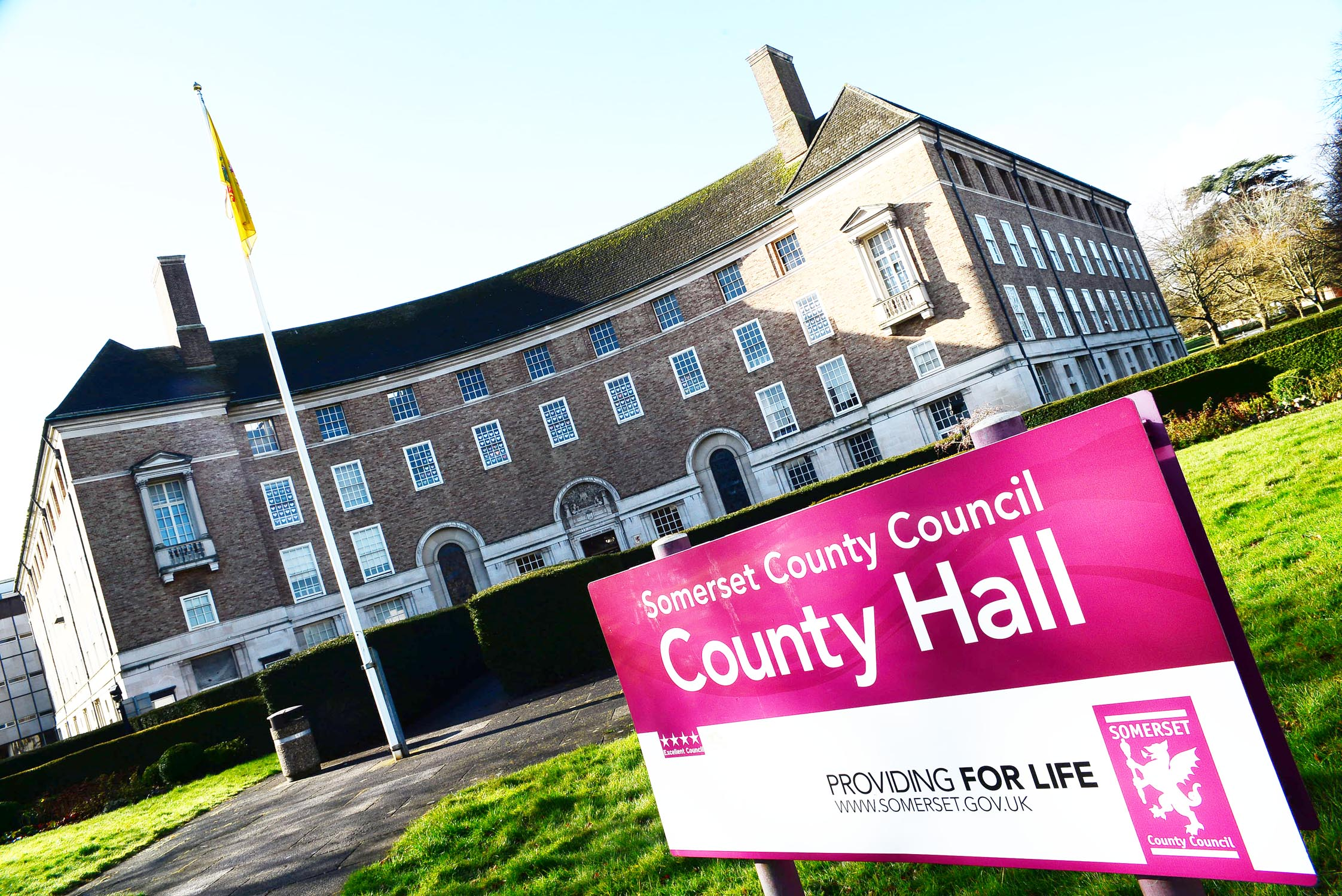 Double resignation rocks County Hall as financial crisis deepens