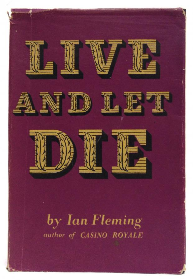 Somerset County Gazette: LIVE AND LET DIE: A first edition of Ian Fleming's James Bond spy thriller