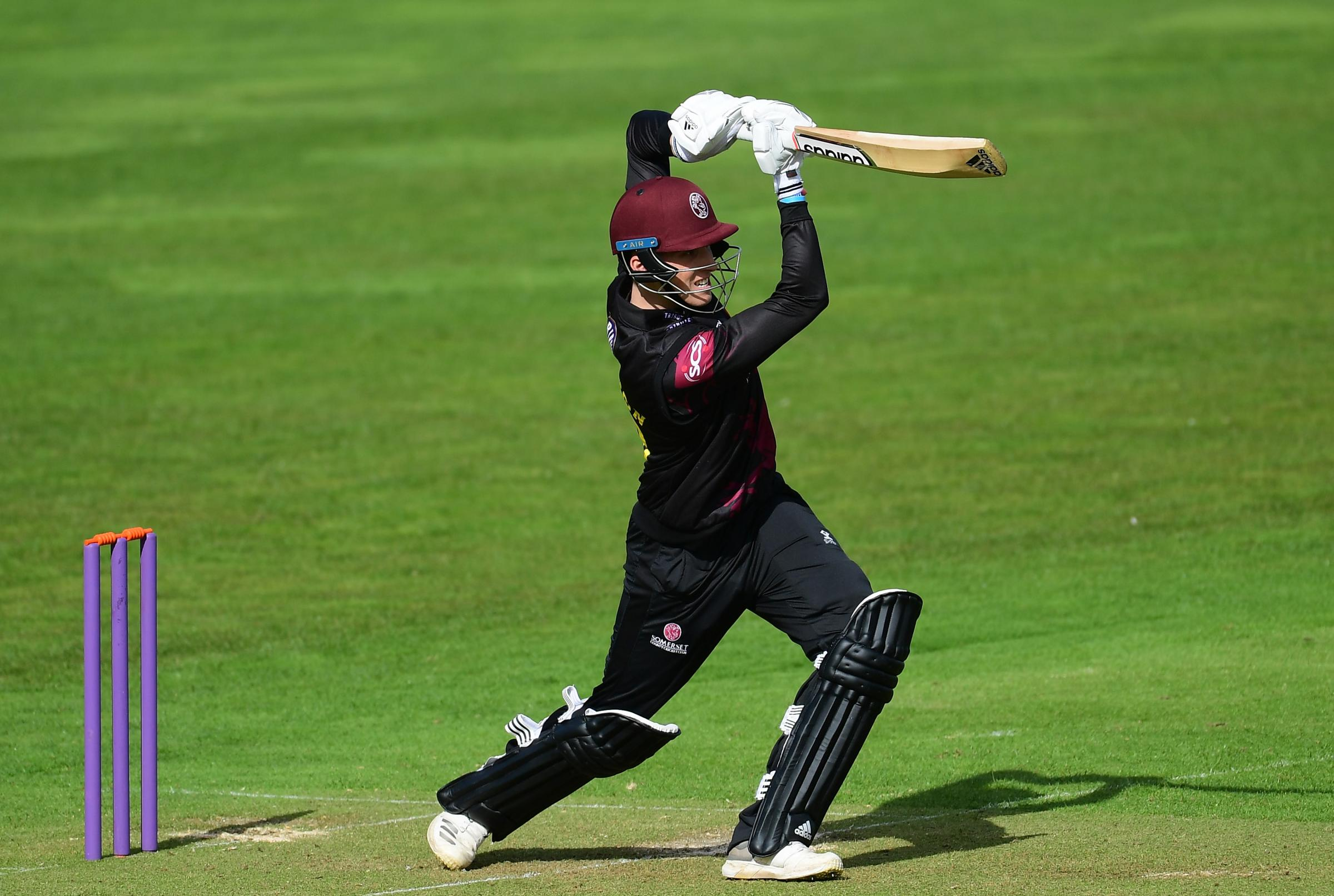 IN-FORM: Tom Banton put in another good display for Somerset. Pic: SCCC