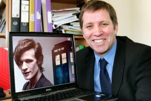 JERRY Hardingham gave Matt Smith's debut performance as Doctor Who the thumbs up. PHOTO: Steve Guscott
