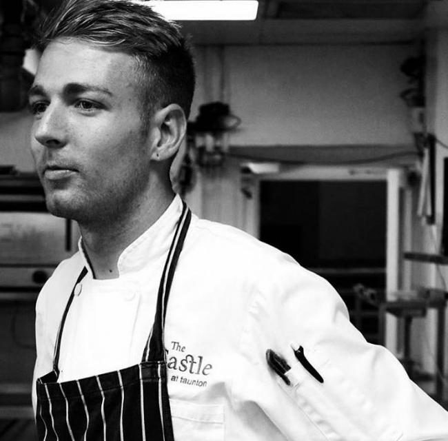 TRAGIC CHEF: Carl Abrams, who worked at The Castle Hotel
