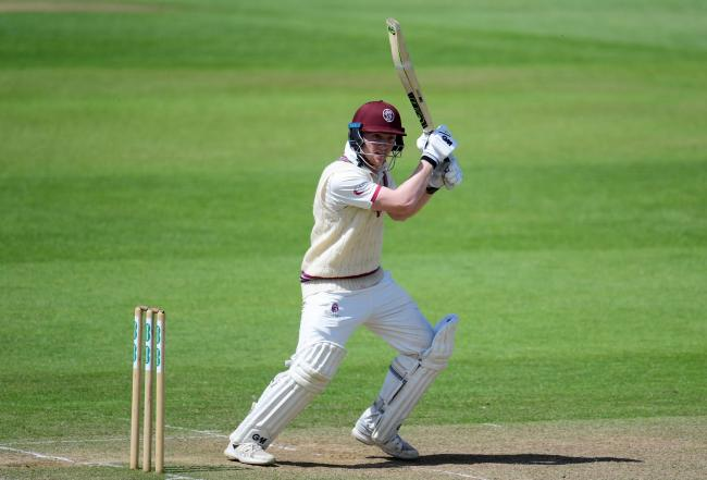 Dom Bess was in fine form with the bat against Notts (Pic: Alex Davidson/SCCC)