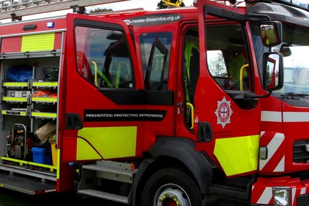 RESCUE: Firefighters from Minehead went to a property on The Avenue in Minehead to rescue a woman from a lift