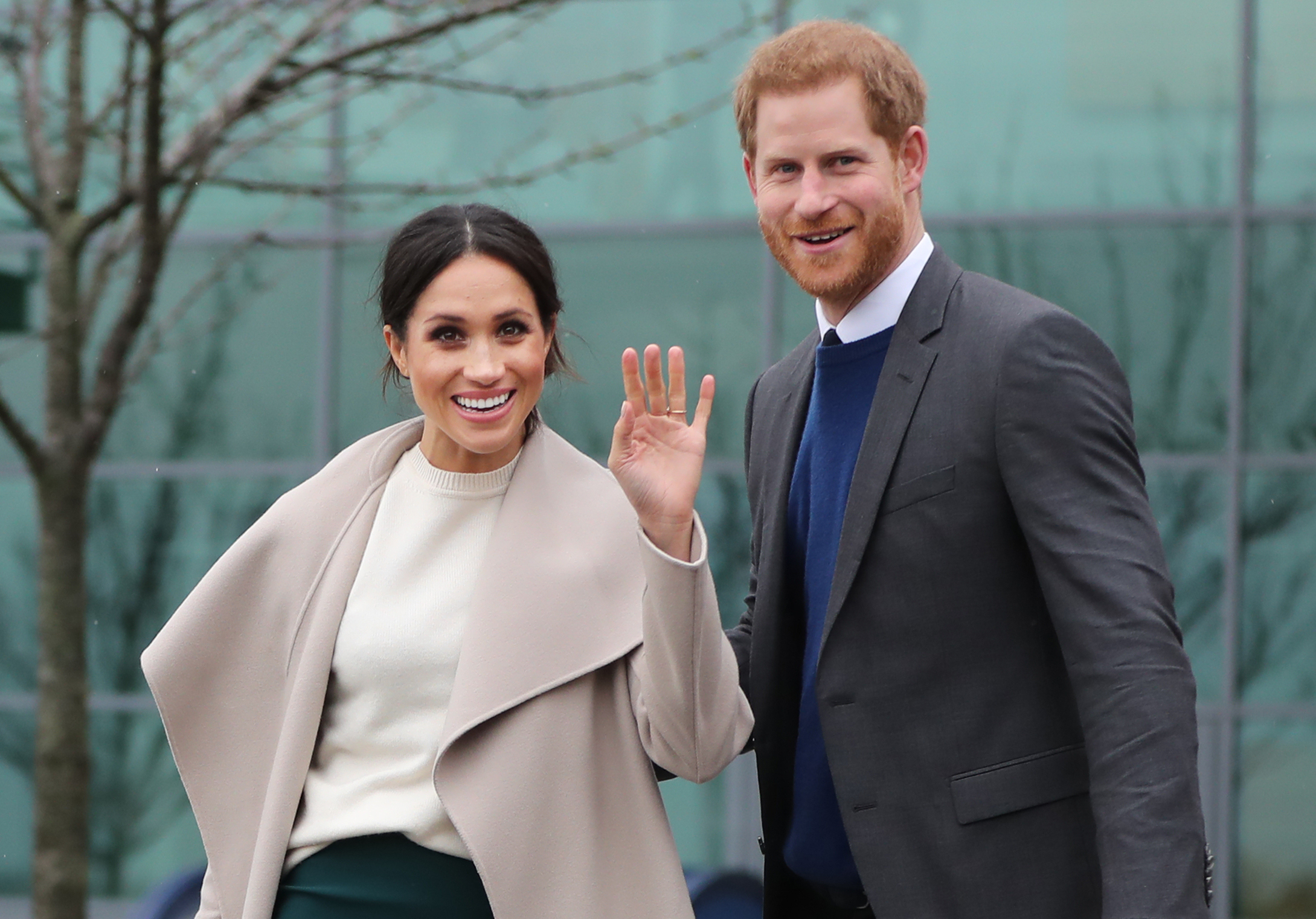 BIG DAY: The weather is set to be pleasant for the anticipated Royal Wedding on Saturday