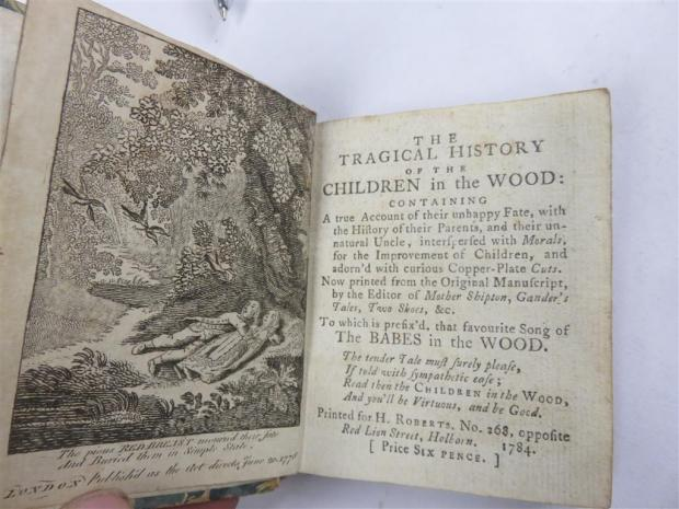 Somerset County Gazette: SOLD: The Tragical History of Children in the Wood, sold for £860