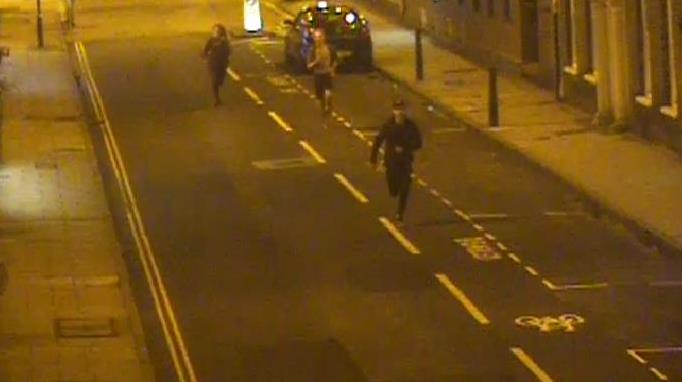 CCTV: Avon and Somerset Police have released CCTV images as part of an ongoing investigation into an alleged unprovoked assault in Taunton