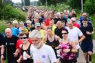 BIRTHDAY: There was a big turnout for Longrun Meadow Parkrun's NHS 70th anniversary event. All pics: Steve Richardson
