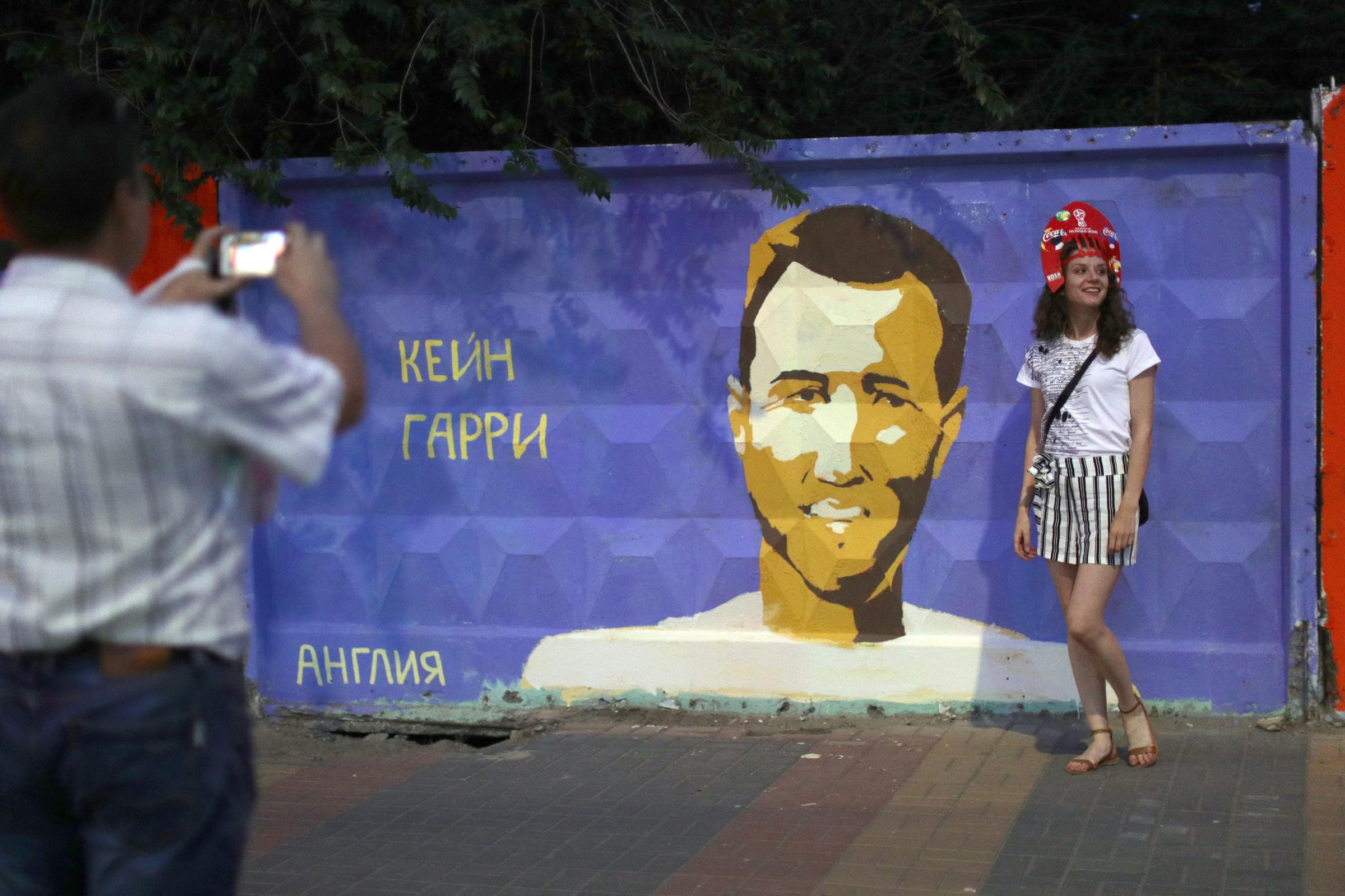 Harry Kane Among Stars Featuring In Volgograd Murals - Somerset
