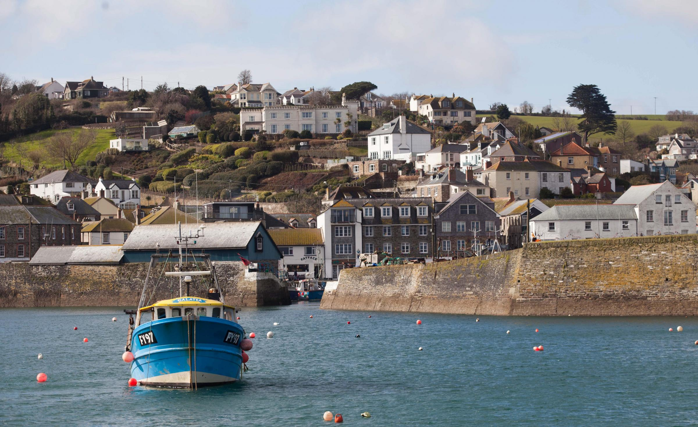 SECOND HOME BAN: Mevagissey, in Cornwall, where locals who have been priced out of their pretty fishing village have voted to ban second-home owners from buying new builds in a landslide victory. Picture: SWNS