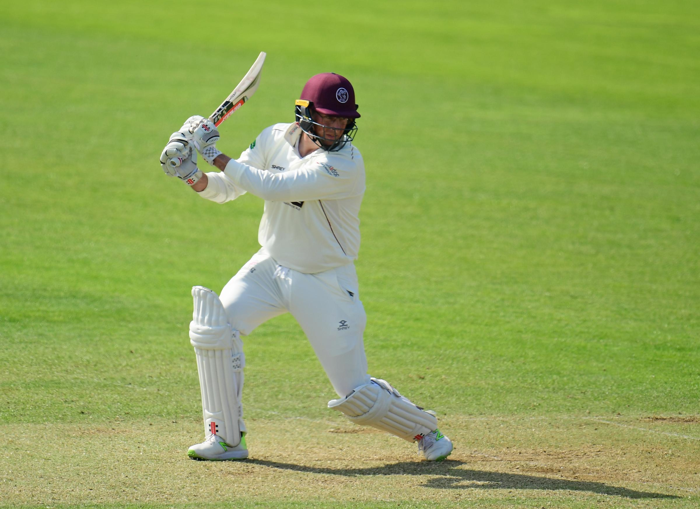 BACK IN ACTION: Marcus Trescothick is due to play for Somerset seconds against Sussex at Taunton Vale this week. Pic: Alex Davidson/SCCC
