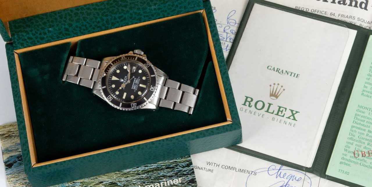FINE ROLEX: This Rolex is brought to the market for the first time in 40 years