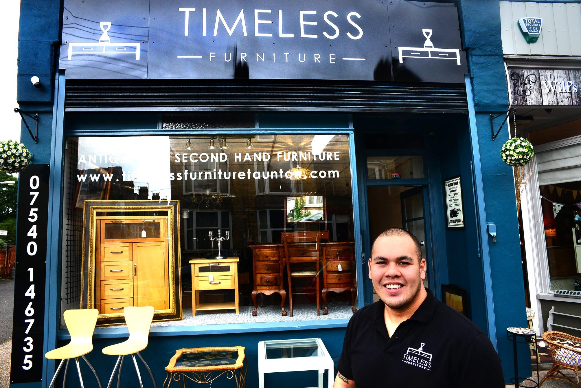 Timeless Furniture, 66 Cheddon Rd, Taunton TA2 7DP, UK.