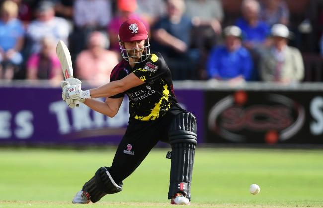 IN FORM: James Hildreth top scored with 81 in Somerset's win at Hove. Pic: Alex Davidson/SCCC