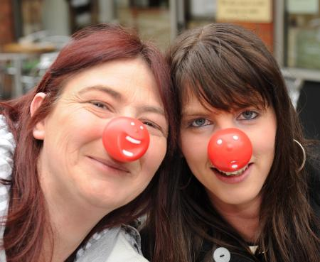 Red Nose Day for Comic Relief in Taunton, Wellington and West Somerset