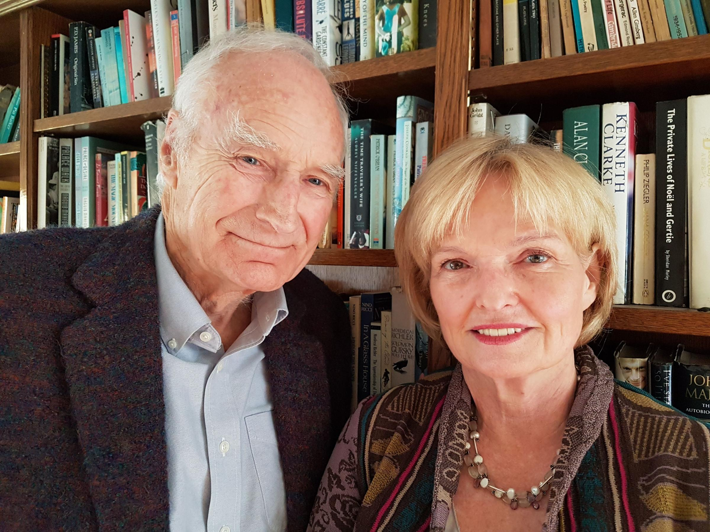 BIG INTERVIEW: Peter Snow and Ann MacMillan at Taunton Literary Festival