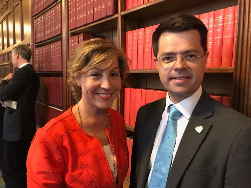 MEETINGS: Rebecca Pow MP with Minister James Brokenshire