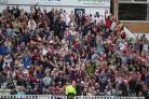 SUPPORT: Somerset fans created a great atmosphere at Edgbaston despite the result not going their way. Pic: Alex Davidson/SCCC