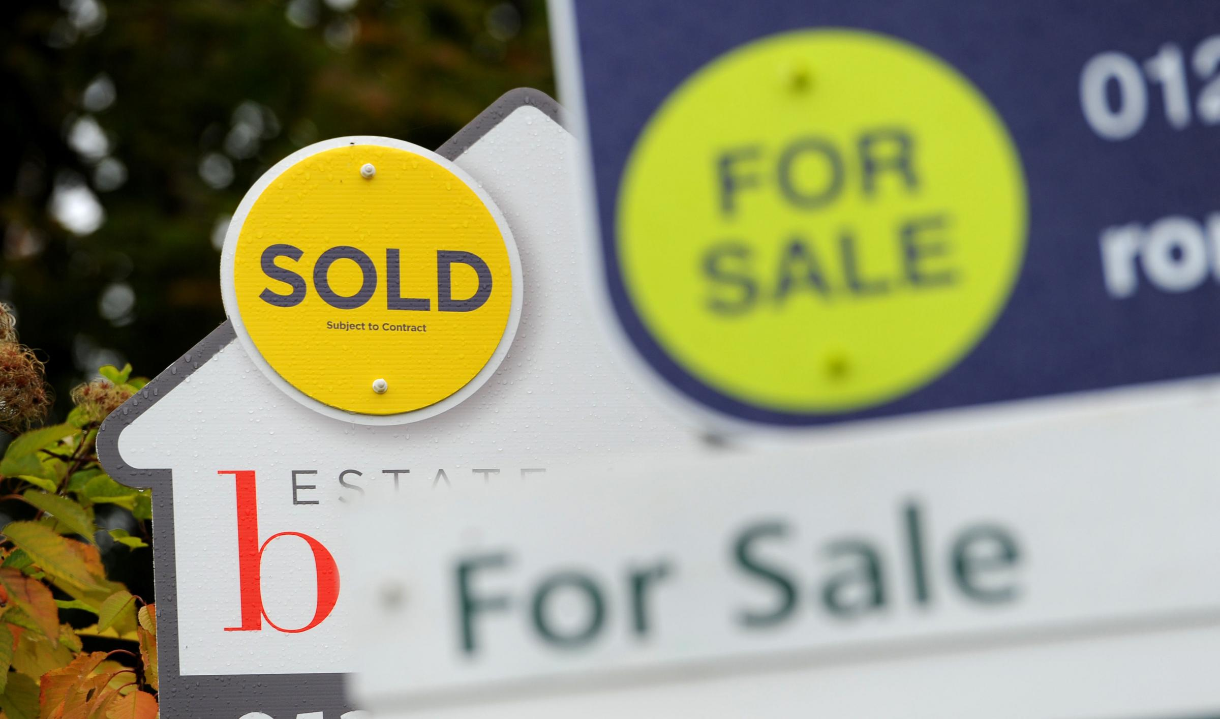 SOLD: Official figures show that house prices have recorded their biggest month-on-month dip in six years. Values fell by 0.5\% month on month in August, marking the biggest decline since July 2012.