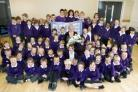 Pupils say goodbye to head teacher