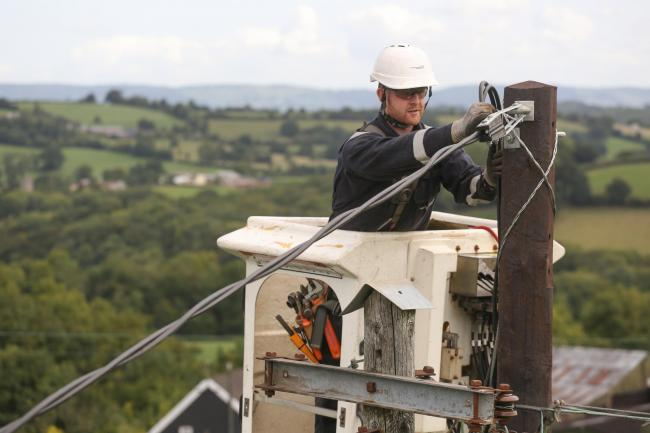 Western Power Distribution improving supply network to homes