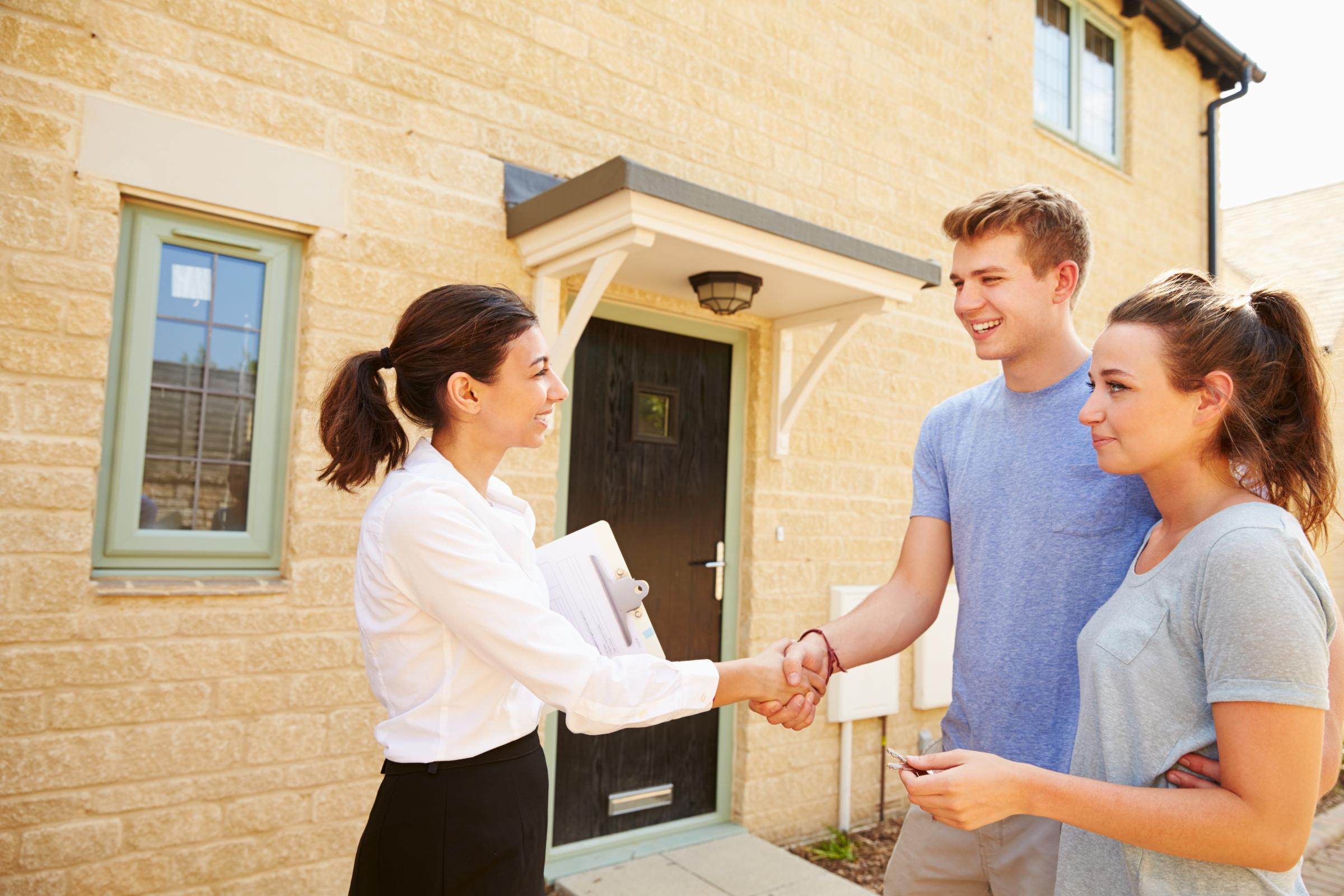 PROPERTY: Young buyers at their first home
