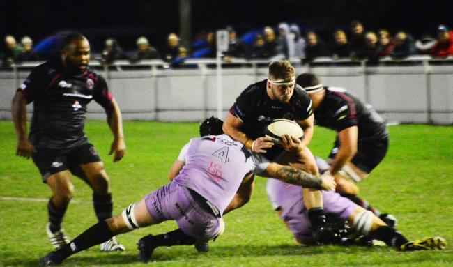 HOME WIN: Taunton Titans saw off Clifton on Friday night