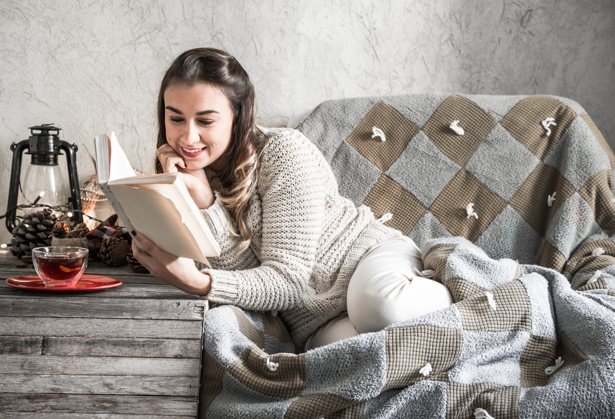WINTER: Keep warm and cosy at home during winter. Picture: Thinkstock/PA