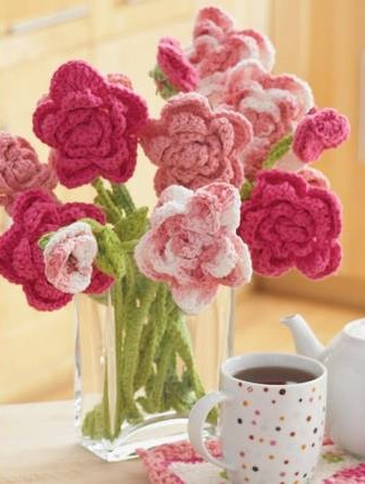 Say it with Flowers, Crochet Style!