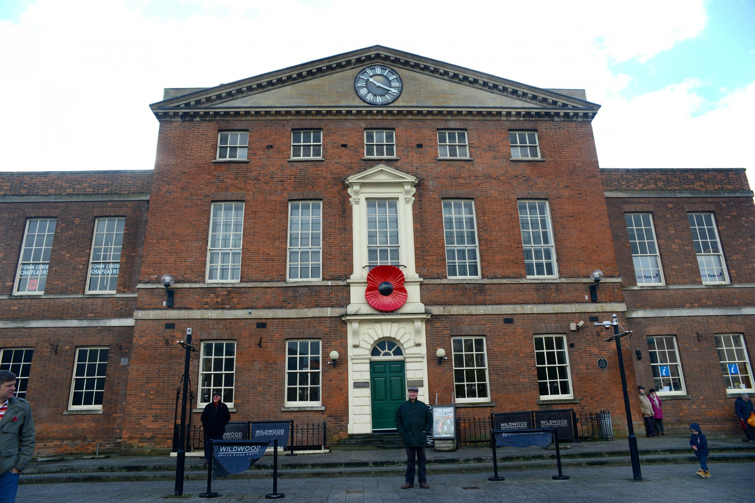 PLANNING: For Remembrance events in Taunton