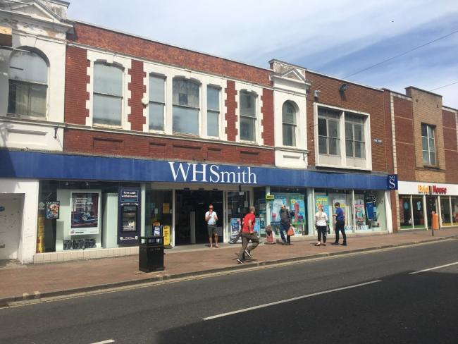 WH SMITH CASE: Customer's serious injury from fall through floor into basement