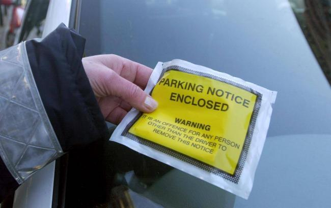 PARKING NOTICE: Should traffic wardens be at home?