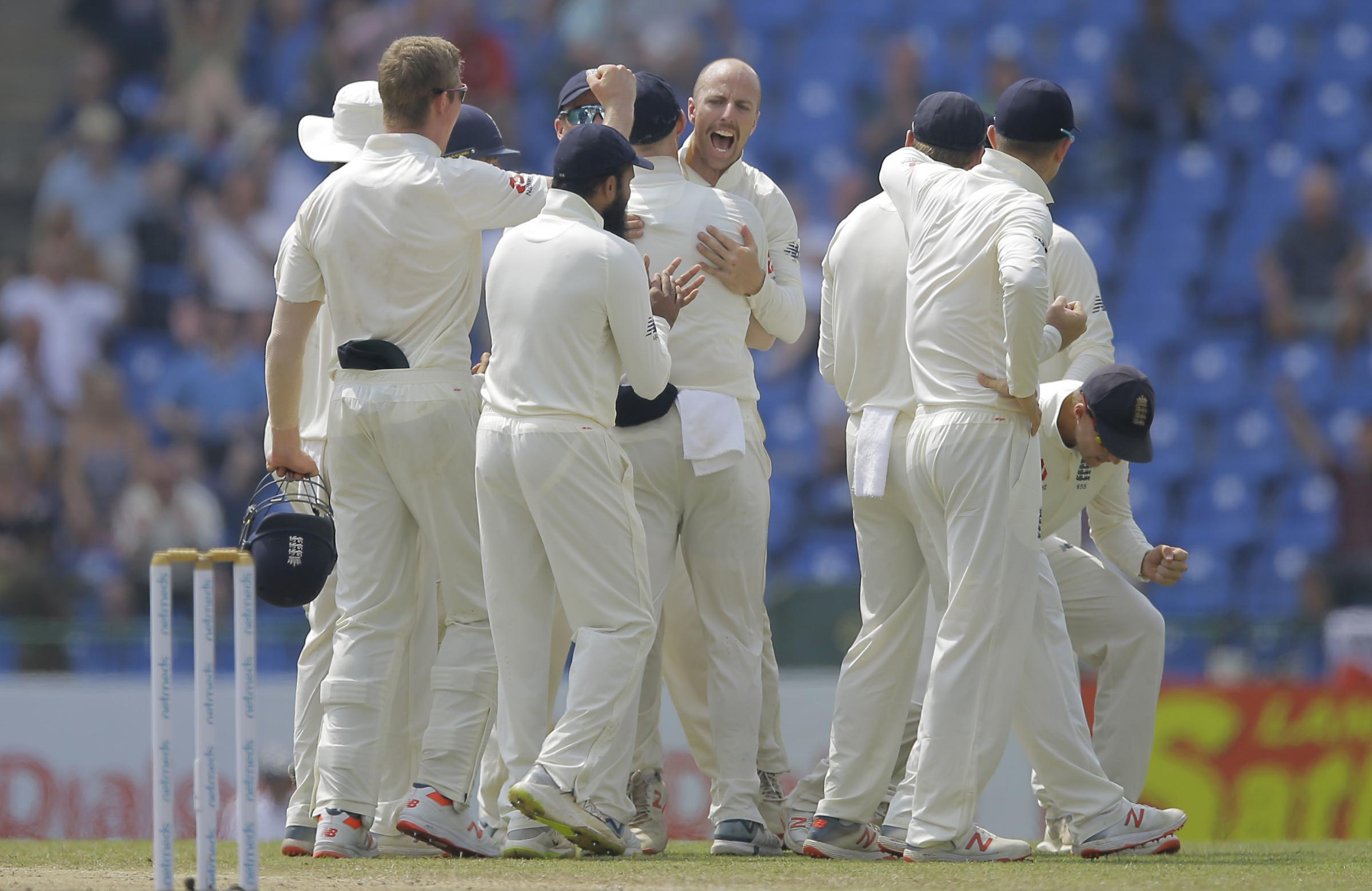 TURNAROUND: England's bowlers seized control on day two of the third Test in Sri Lanka.