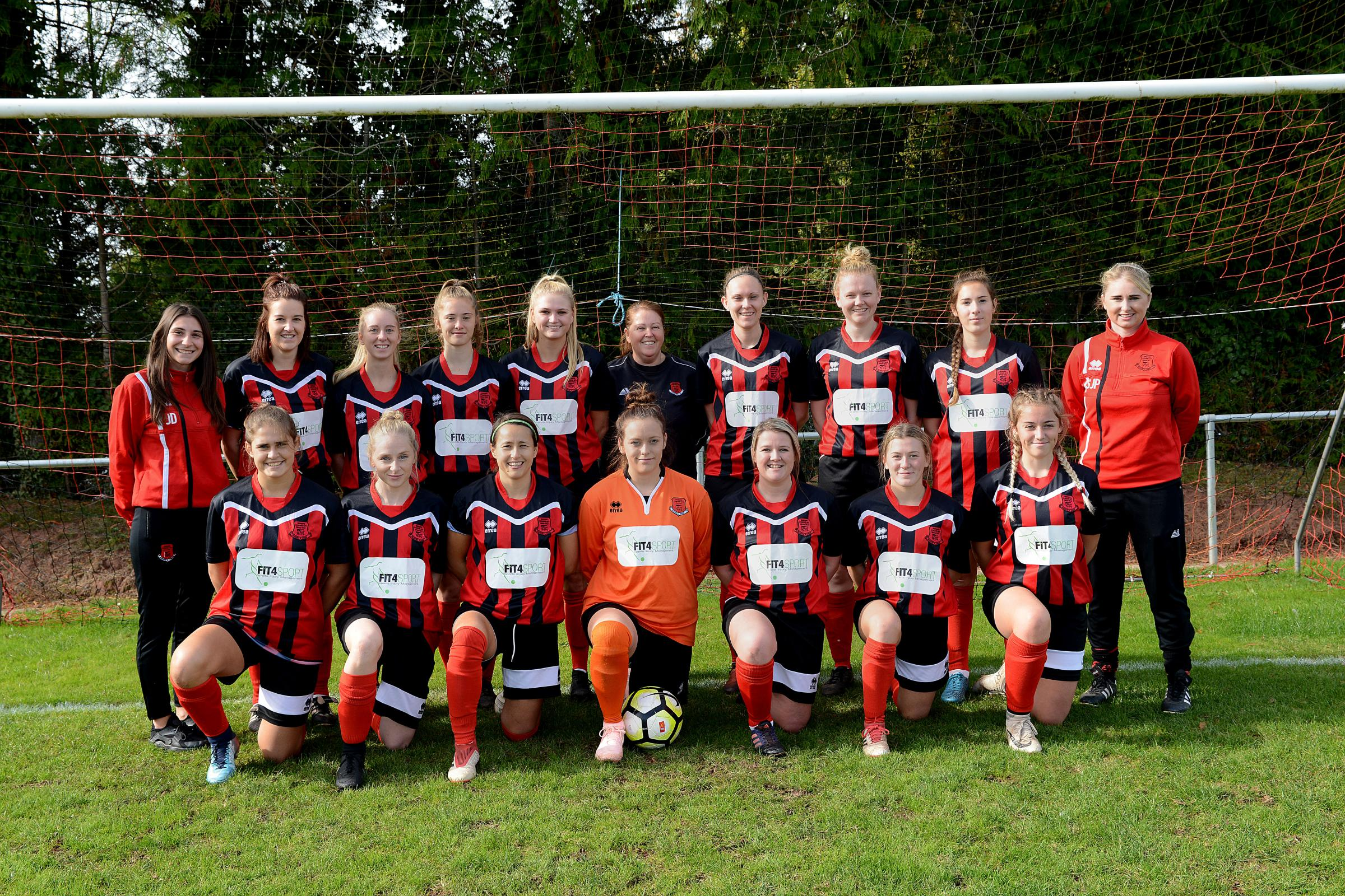 HOME TURF: Bishops Lydeard Ladies are looking to beat Callington Town at Cothelstone Road on Sunday. Pic: Ash Magill