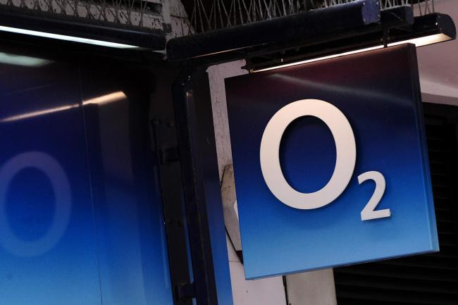 BACK: O2 has apologised over the loss