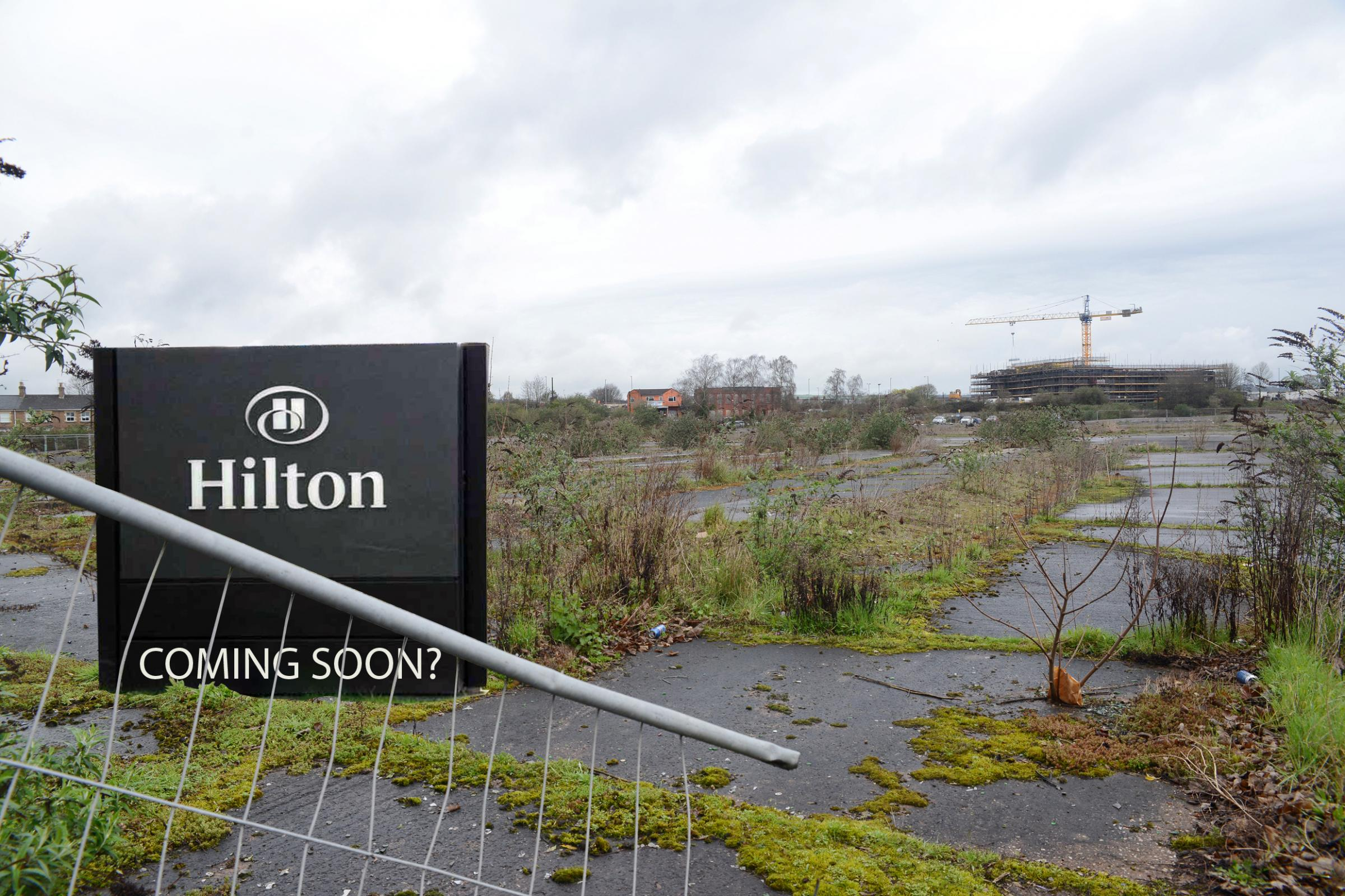 COMING SOON?: A Hilton at Firepool