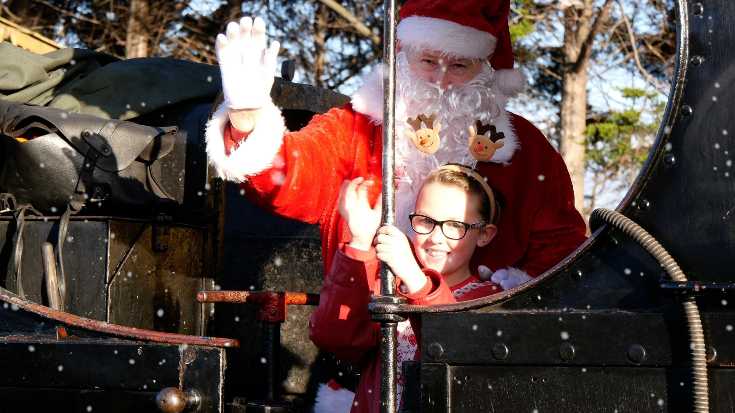 POPULAR: West Somerset Railway's Santa Express service has proved a hit. WSR says it is pleased with the amount of support it has received from locals and visitors since its three month closure was announced.