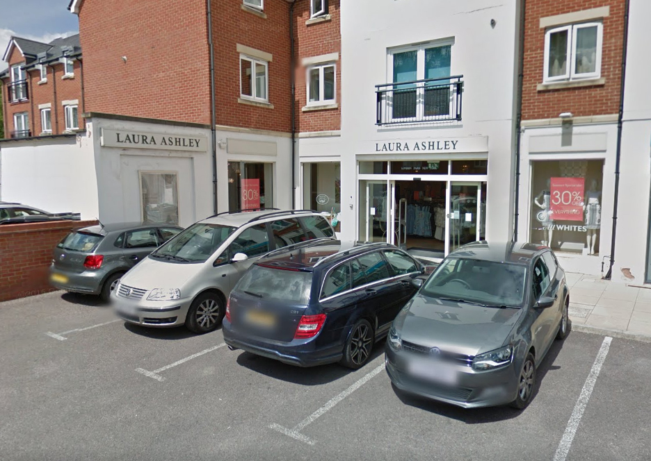 UNDER THREAT?: The Laura Ashley store in Taunton. PICTURE: Google Street View