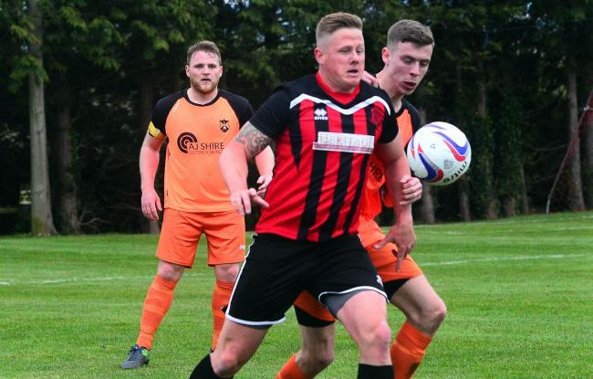LEVELLER: Ben Hebditch, who scored a last-ditch equaliser for Bishops Lydeard on Saturday. Pic: Steve Richardson
