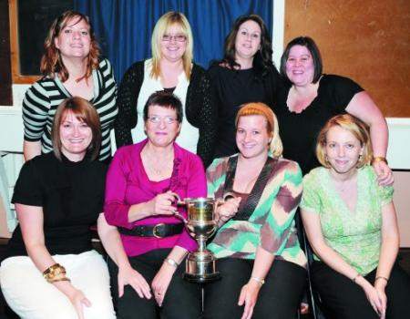 DIVISION Two runners-up Gardeners Arms B are (back from left): Gemma Southby, Amy Muxworthy, Sharon Vickery, Dee Bond. Front: Sue Warren, Tracey Templeman (capt), Hayley Smith, Lisa Brown.