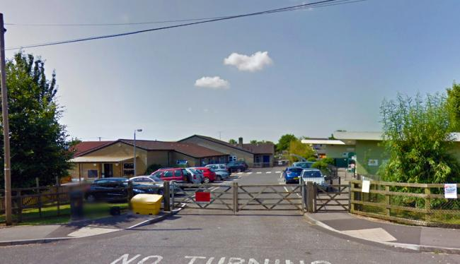 GOODWILL: At Christ Church CofE Primary, in Frome. PICTURE: Google Street View