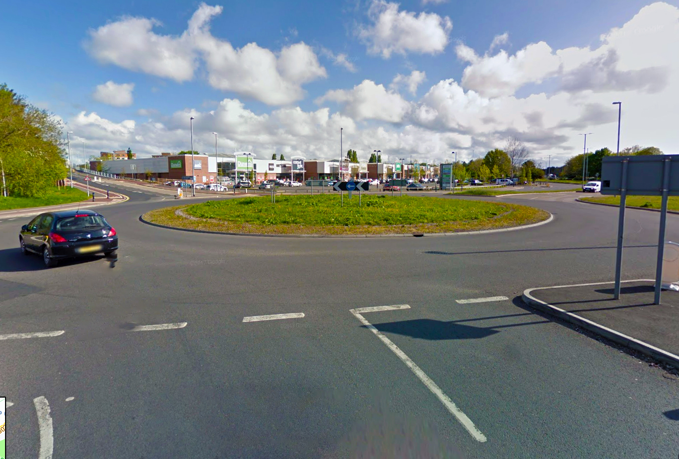 PROBLEM ROUNDABOUT: At Priory Way. PICTURE: Google Street View